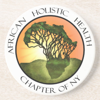 African Holistic Health Merchandise Beverage Coasters
