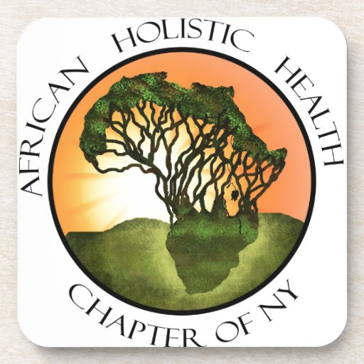 African Holistic Health Merchandise Drink Coasters