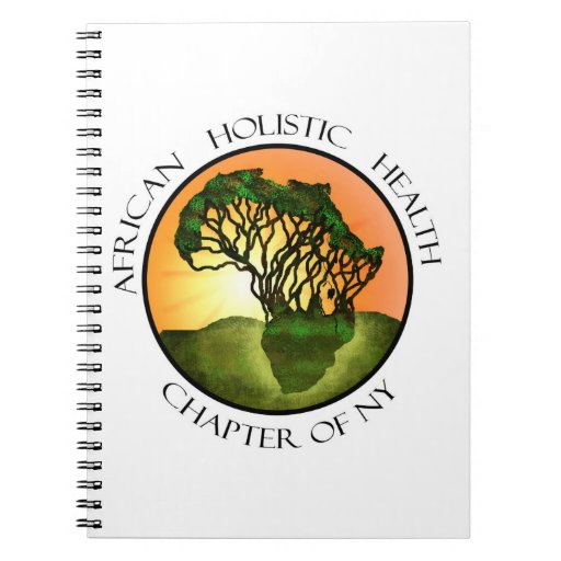 African Holistic Health Merchandise Spiral Note Book