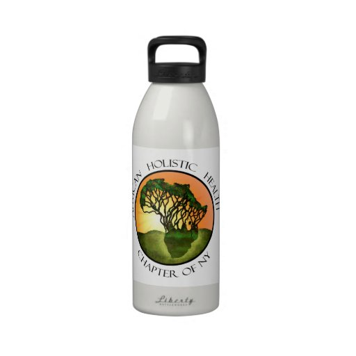African Holistic Health Merchandise Drinking Bottles