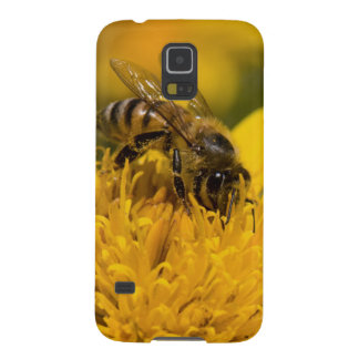 African Honey Bee With Pollen Sacs Feeding Galaxy S5 Cover