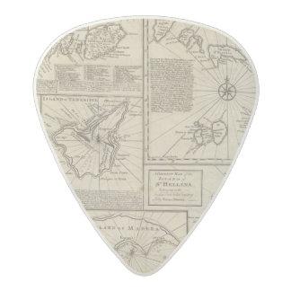 African Islands Acetal Guitar Pick