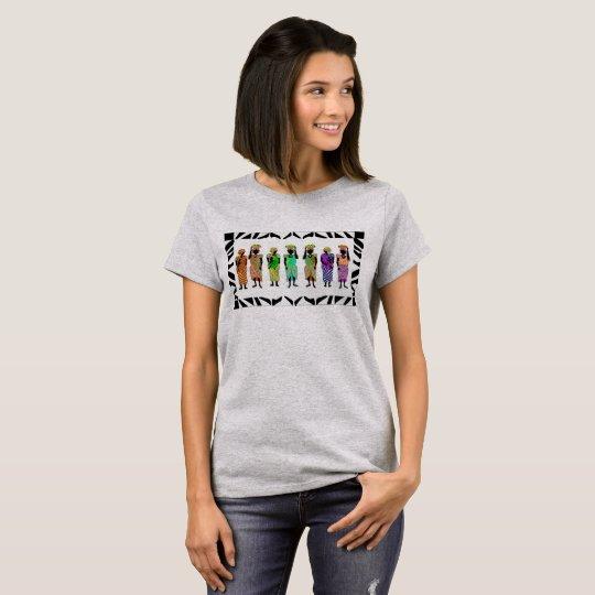 African ladies design t shirt