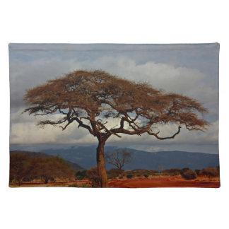 African landscape placemat