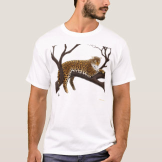 African Leopard in Tree T-Shirt