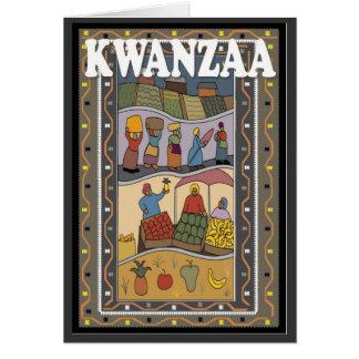 African life, celebrate Kwanzaa Card