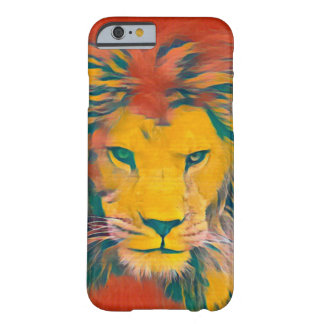 African Lion Acrylic Wildlife Art iPhone 6/6s Case