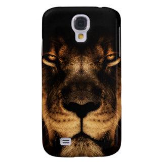 African Lion Face Art Galaxy S4 Case