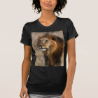 African Lion in Grass T-Shirt