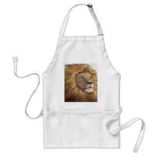 African lion standard apron