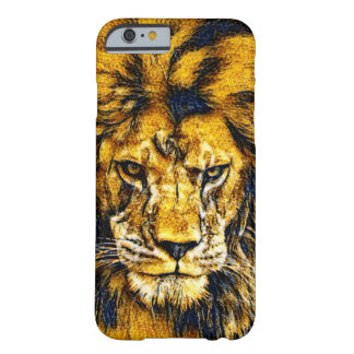 African Lion Wildlife Art iPhone 6/6s Case