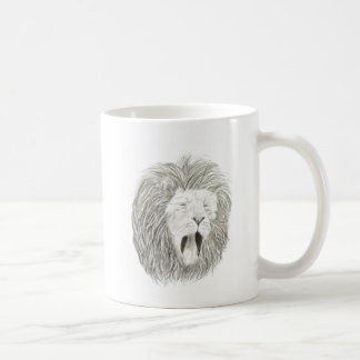 African Lion; Wildlife Artwork Collection Coffee Mug