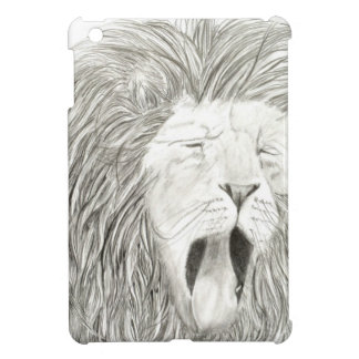 African Lion; Wildlife Artwork Collection iPad Mini Cover
