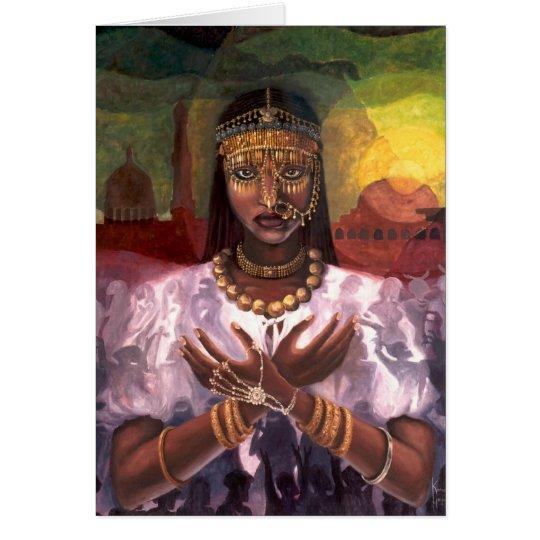 'African Majesty' Kwanzaa card