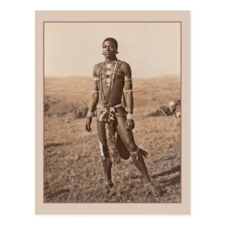 African Man Postcard