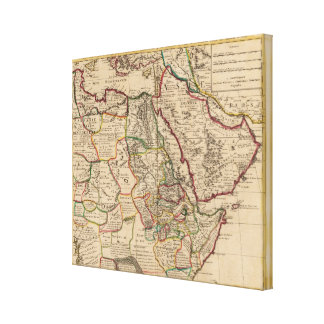 African map canvas print