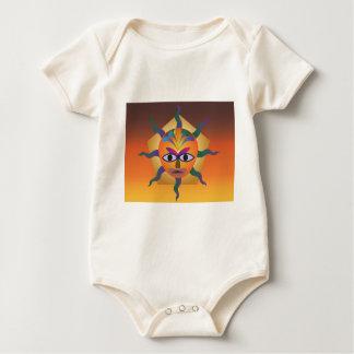 African Mask Baby Bodysuit