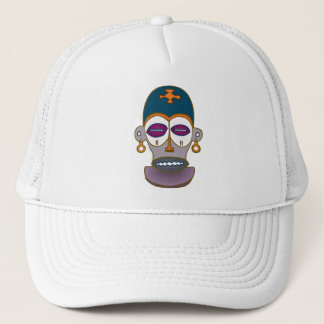 African Mask Design Trucker Hat