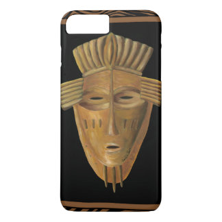 African Mask Painting by Chariklia Zarris iPhone 8 Plus/7 Plus Case