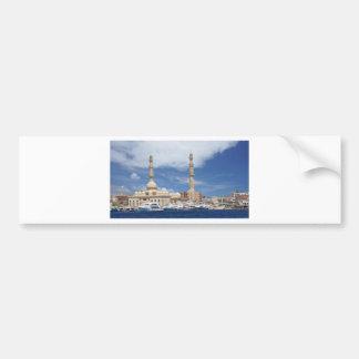 african mosque bumper sticker