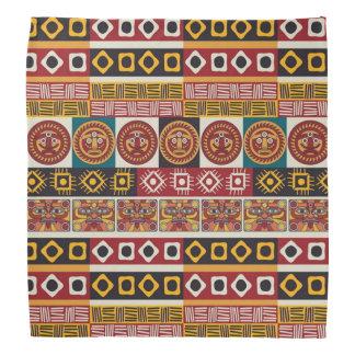 African Motif Colorful Decorative Pattern Design Bandannas