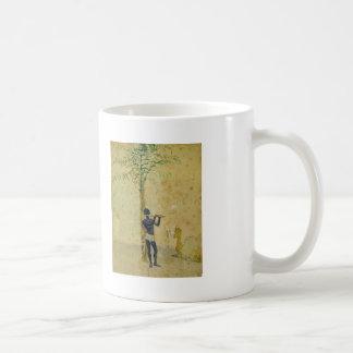 African Motiff by Ilya Repin Basic White Mug