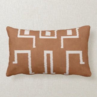 African Mud cloth Print look Lumbar Cushion