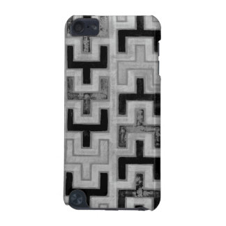 African Mudcloth Textile with Geometric Patterns iPod Touch (5th Generation) Cases