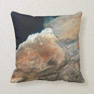 African Orange River Cushion