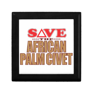African Palm Civet Save Gift Box
