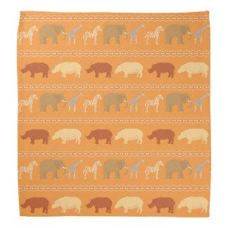 African pattern bandana