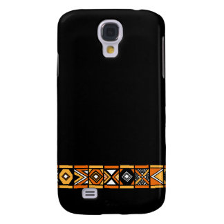 African pattern galaxy s4 case