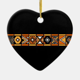 African pattern ornament