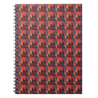 African pattern spiral notebook