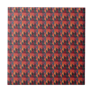 African pattern tile