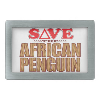 African Penguin Save Belt Buckles