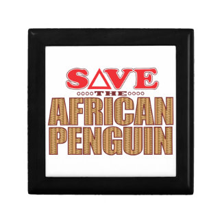 African Penguin Save Gift Box