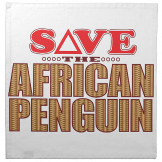 African Penguin Save Napkin