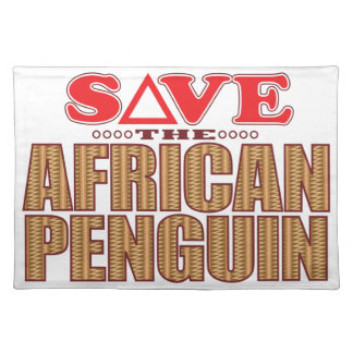 African Penguin Save Placemat