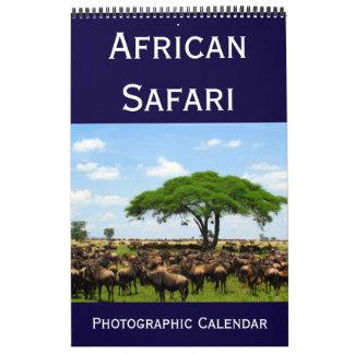 african photographic safari wall calendars