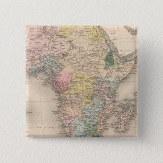 African Politics 15 Cm Square Badge