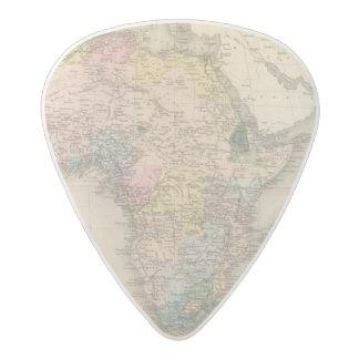 African Politics Acetal Guitar Pick