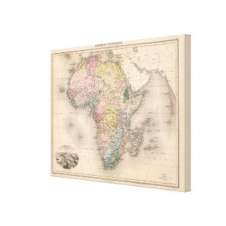 African Politics Canvas Print