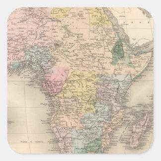 African Politics Square Sticker