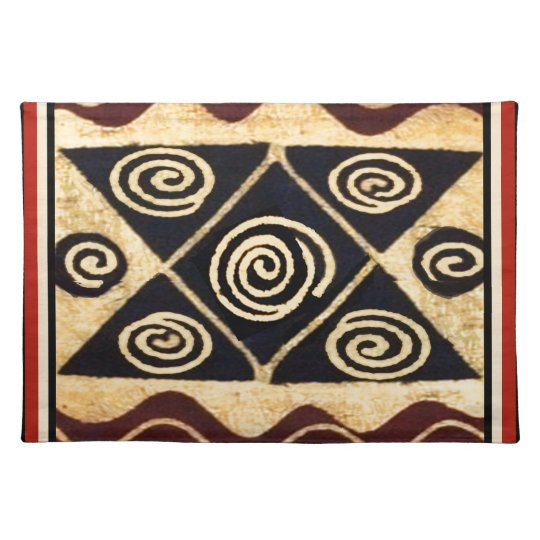 African Primordial Decor Placemats