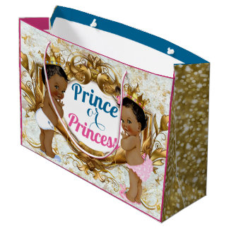 African Prince or Princess Gender Reveal Gift Bag