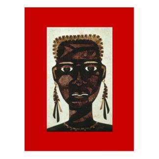 African,Princess Postcard
