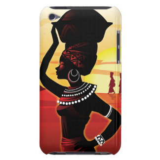 African Queen iPod Touch 4G Case iPod Case-Mate Case