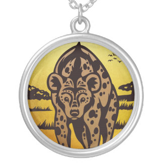 African Queen Round Pendant Necklace
