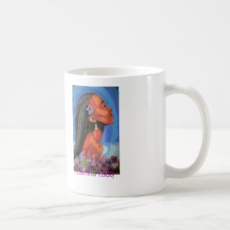 African Queen Series Basic White Mug